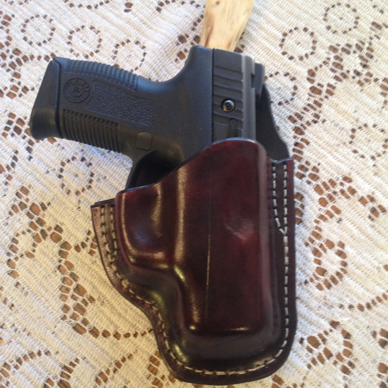 Leather Outside the waist band holster